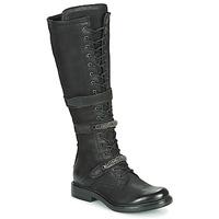 鞋子 女士 都市靴 Mjus CAFE HIGH 黑色