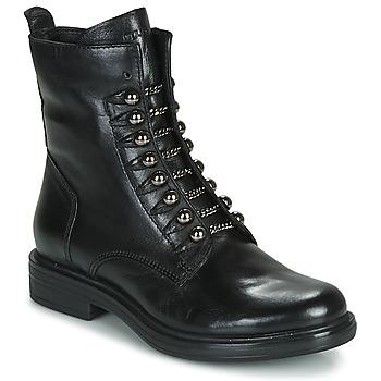 鞋子 女士 短筒靴 Mjus CAFE STYLE 黑色