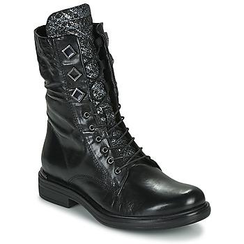 鞋子 女士 短筒靴 Mjus CAFE METAL 黑色 / Python