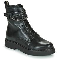 鞋子 女士 短筒靴 Mjus TRIPLE STRAP 黑色