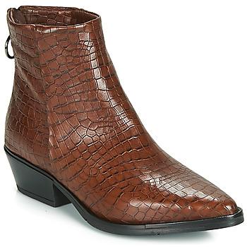 鞋子 女士 短筒靴 Mjus CALAMITY 棕色