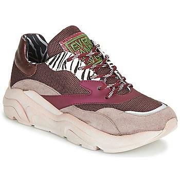 鞋子 女士 球鞋基本款 Meline JOLI 玫瑰色 / 米色