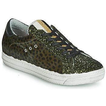 鞋子 女士 球鞋基本款 Meline  卡其色