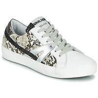 鞋子 女士 球鞋基本款 Meline  白色 / 莽纹