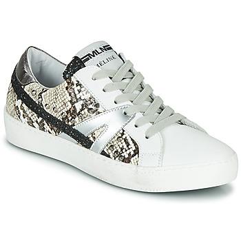 鞋子 女士 球鞋基本款 Meline  白色 / 莽紋