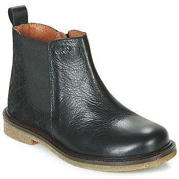 鞋子 女孩 短筒靴 Aster WAXOU 黑色