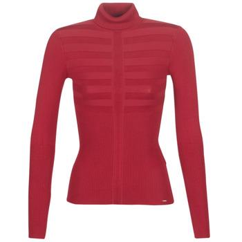 衣服 女士 羊毛衫 Morgan MENTOS 红色