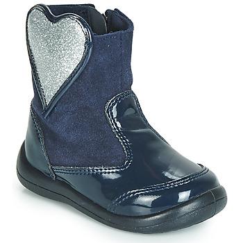鞋子 女孩 短筒靴 Gioseppo BUCKLAND 海藍色 / 銀灰色