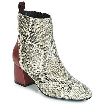 鞋子 女士 短靴 Gioseppo NEUBURG Python / 波爾多紅