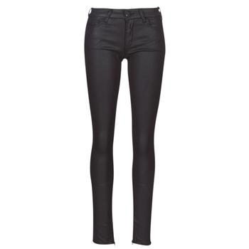 衣服 女士 紧身牛仔裤 Replay LUZ 黑色