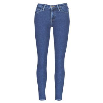 衣服 女士 紧身牛仔裤 Lee SCARLETT STONE MILTONA 蓝色