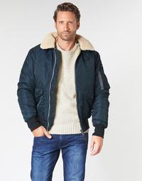 衣服 男士 夾克 Schott OHARA 海藍色