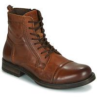 鞋子 男士 短筒靴 Jack & Jones 杰克琼斯 JFW RUSSEL LEATHER 棕色