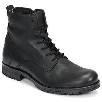 鞋子 男士 短筒靴 Jack & Jones 杰克琼斯 JFW ORCA LEATHER 黑色