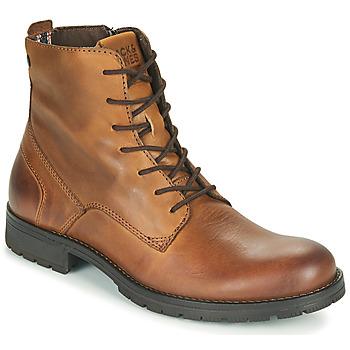 鞋子 男士 短筒靴 Jack & Jones 杰克琼斯 JFW ORCA LEATHER 棕色