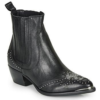 鞋子 女士 短靴 Ikks BP80075-03 黑色
