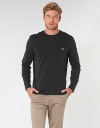 衣服 男士 长袖T恤 Lyle & Scott TS512V-574 黑色
