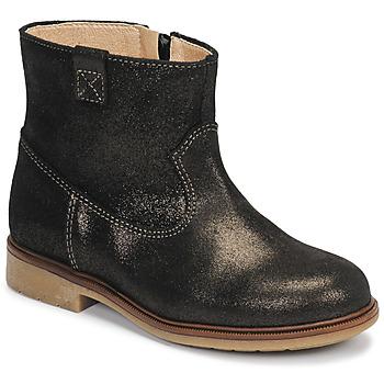 鞋子 女孩 短筒靴 Pablosky 475157 古銅色