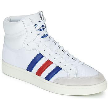 鞋子 高帮鞋 Adidas Originals 阿迪达斯三叶草 AMERICANA HI 白色 / 蓝色 / 红色
