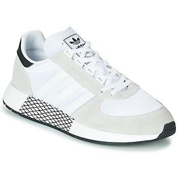 鞋子 球鞋基本款 Adidas Originals 阿迪达斯三叶草 MARATHON TECH 白色
