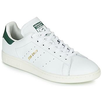 鞋子 球鞋基本款 Adidas Originals 阿迪达斯三叶草 STAN SMITH 白色 / 绿色
