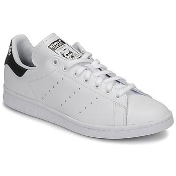 鞋子 球鞋基本款 Adidas Originals 阿迪达斯三叶草 STAN SMITH 白色 / 黑色