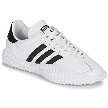鞋子 男士 球鞋基本款 Adidas Originals 阿迪达斯三叶草 COUNTRYXKAMANDA 白色 / 黑色