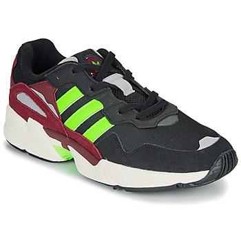 鞋子 男士 球鞋基本款 Adidas Originals 阿迪达斯三叶草 YUNG-96 黑色 / 绿色
