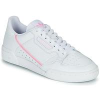 鞋子 女士 球鞋基本款 Adidas Originals 阿迪达斯三叶草 CONTINENTAL 80 W 白色 / 玫瑰色