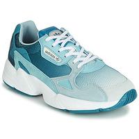鞋子 女士 球鞋基本款 Adidas Originals 阿迪达斯三叶草 FALCON W 蓝色