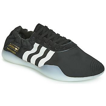 鞋子 女士 球鞋基本款 Adidas Originals 阿迪達斯三葉草 TAEKWONDO TEAM W 黑色