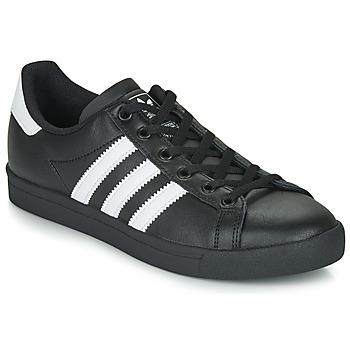 鞋子 儿童 球鞋基本款 Adidas Originals 阿迪达斯三叶草 COAST STAR J 黑色 / 白色