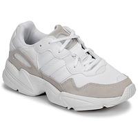 鞋子 兒童 球鞋基本款 Adidas Originals 阿迪達斯三葉草 YUNG-96 J 米色