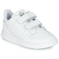 鞋子 兒童 球鞋基本款 Adidas Originals 阿迪達斯三葉草 SUPERCOURT CF I 白色