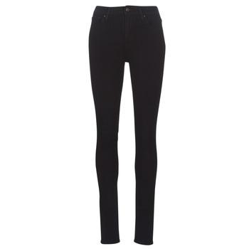 衣服 女士 牛仔鉛筆褲 Levi's 李維斯 721 HIGH RISE SKINNY 黑色