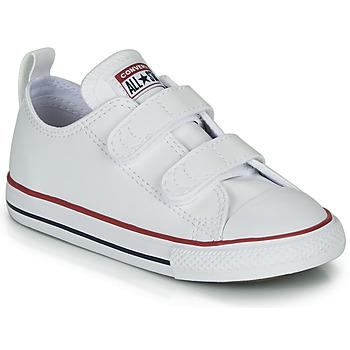 鞋子 儿童 球鞋基本款 Converse 匡威 CHUCK TAYLOR ALL STAR 2V - OX 白色