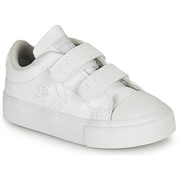 鞋子 儿童 球鞋基本款 Converse 匡威 STAR PLAYER OX 白色