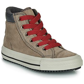 鞋子 高帮鞋 Converse 匡威 CHUCK TAYLOR ALL STAR PC BOOT BOOTS ON MARS - HI 棕色