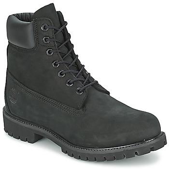 鞋子 男士 短筒靴 Timberland 添柏岚 6IN PREMIUM BOOT 黑色