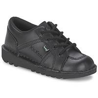 鞋子 儿童 球鞋基本款 Kickers KICK LOTOE 黑色