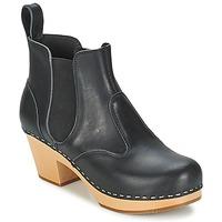 鞋子 女士 短靴 Swedish hasbeens CHELSEA 黑色