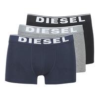 内衣  男士 拳击 Diesel 迪赛尔 DAMIEN 灰色 / 海蓝色 / 黑色