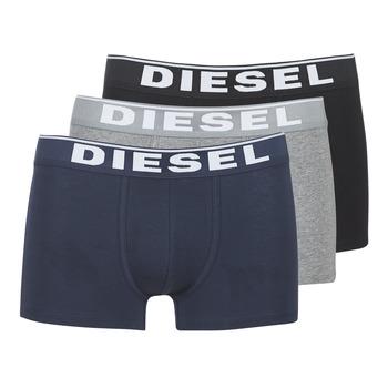 內衣  男士 拳擊 Diesel 迪賽爾 DAMIEN 灰色 / 海藍色 / 黑色