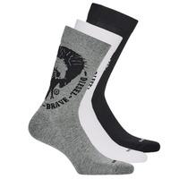 配件 男士 短筒襪 Diesel 迪賽爾 SKM-RAY-THREEPACK-0EASX-E3843 黑色 / 灰色 / 白色