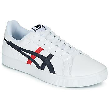 鞋子 男士 球鞋基本款 Asics 亚瑟士 CLASSIC CT 白色 / 海蓝色 / 红色