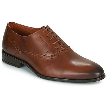 鞋子 男士 系带短筒靴 Carlington 卡尔顿 LUDIVIEN 棕色