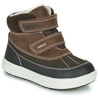 鞋子 男孩 短筒靴 Primigi PEPYS GORE-TEX 棕色