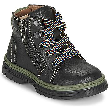 鞋子 男孩 短筒靴 Primigi PLAY TRACK 黑色