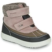 鞋子 女孩 雪地靴 Primigi PEPYS GORE-TEX Vieux / 玫瑰色 / 棕色