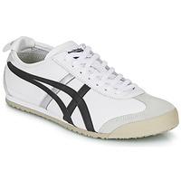 鞋子 球鞋基本款 Onitsuka Tiger 鬼冢虎 MEXICO 66 白色 / 黑色